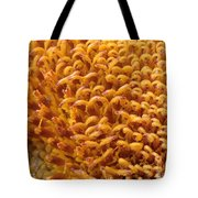 Sunflower Macro Tote Bag