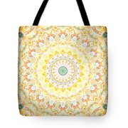 Sunflower Mandala- Abstract Art By Linda Woods Tote Bag
