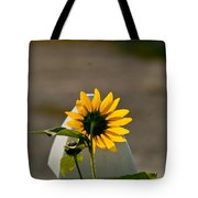 Sunflower Morning Tote Bag