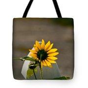 Sunflower Morning Tote Bag by Douglas Barnett