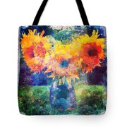 Sunflower Mosaic Tote Bag