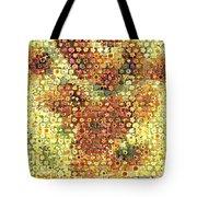 Sunflower Mosaic Tote Bag
