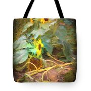 sunflower No. 9 Tote Bag