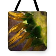 Sunflower On The Side Tote Bag