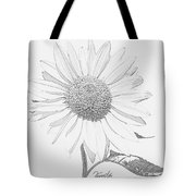Sunflower  P Tote Bag