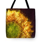 Sunflower Pencil Tote Bag