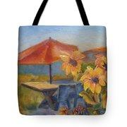 Sunflower Picnic Tote Bag