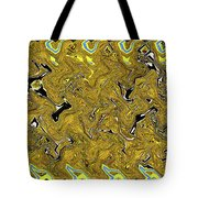 Sunflower Pie Abstract Tote Bag