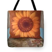 Sunflower Pillow Tote Bag