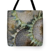 Sunflower Seed Heads Dried To Perfection Tote Bag