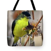 Sunflower Seed Snack Tote Bag