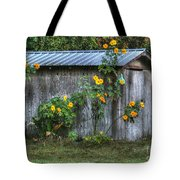 Sunflower Shed Tote Bag