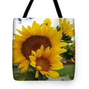 Sunflower Show Tote Bag