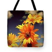 Sunflower Skies Tote Bag