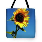 Sunflower Stand Alone Tote Bag