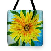 Sunflower Sunshine Of Your Love Tote Bag