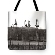 Sunflower Swingset Tote Bag