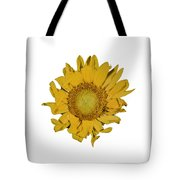 Sunflower T Tote Bag