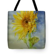 Sunflower Tribute To Van Gogh Tote Bag