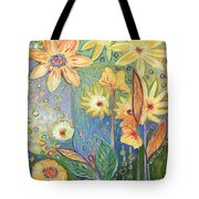 Sunflower Tropics Part 3 Tote Bag