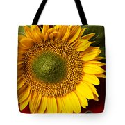 Sunflower With Old Key Tote Bag by Garry Gay