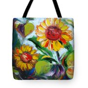 Sunflowers 10 Tote Bag
