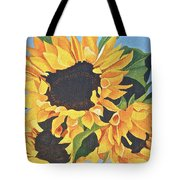 Sunflowers #3 Tote Bag