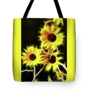 Sunflowers-4955-fractal Tote Bag