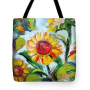 Sunflowers 6 Tote Bag