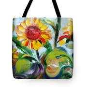 Sunflowers 9 Tote Bag