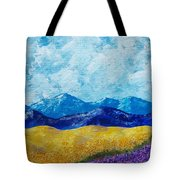 Sunflowers And Lavender In Provence Tote Bag
