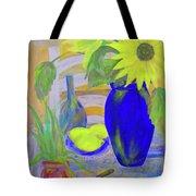 Sunflowers And Lemons Tote Bag