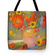 Sunflowers And More Tote Bag
