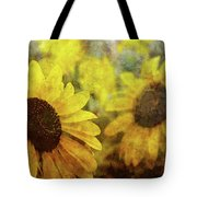 Sunflowers And Water Spots 2773 Idp_2 Tote Bag