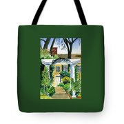 Sunflowers  At Florence Griswold Tote Bag
