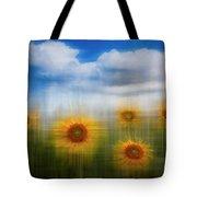 Sunflowers Dreamscape Tote Bag