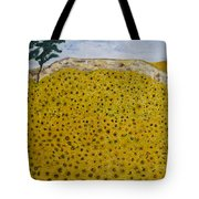 Sunflowers Field 1998. Tote Bag