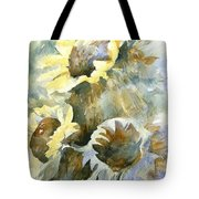 Sunflowers Ill Tote Bag