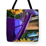 Complementary Sunflowers Tote Bag