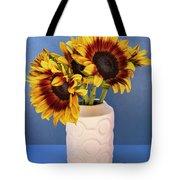Sunflowers In Circle Vase Tournesols Tote Bag