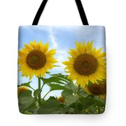 Sunflowers In Texas Summertime 1 Tote Bag