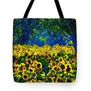 Sunflowers No2 Tote Bag