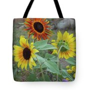 Sunflowers Of August Tote Bag