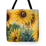 Sunflowers Part 2 Tote Bag