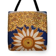 Sunflowers Rich In Blooming Tote Bag
