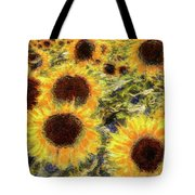Sunflowers Summer Van Gogh Tote Bag