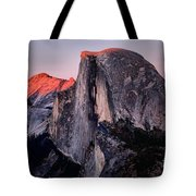 Sunkiss On Half Dome Tote Bag