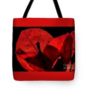 Sunlight Behind The Petals Tote Bag