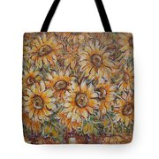 Sunlight Bouquet. Tote Bag