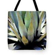 Sunlight On Blue Agave - Digital Art Tote Bag